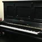 1890 Schubert Upright Piano, Restored by Pianotex