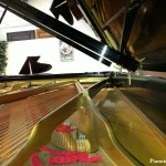 Piano Strings inside a 9' Concert Grand Piano