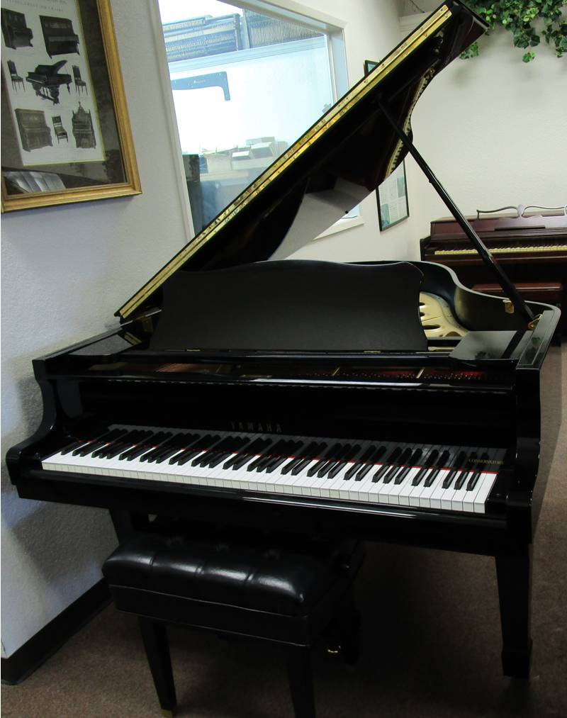 Upright grand pianos for sale dallas ft worth pianotex for Yamaha of dallas