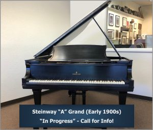 """Steinway Model """"A"""" Grand (Early 1900s)"""