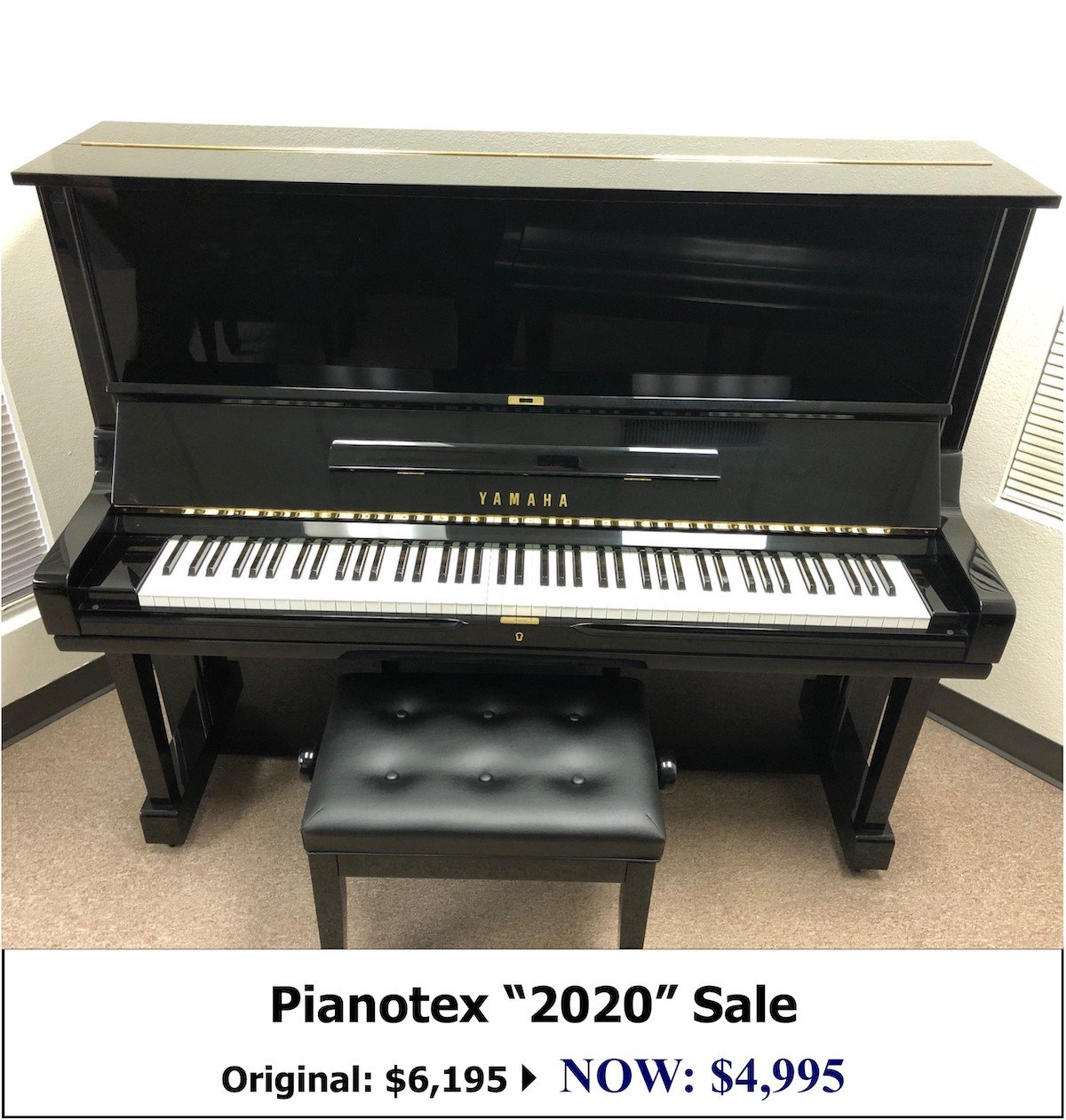 Yamaha U3M Studio Piano for sale