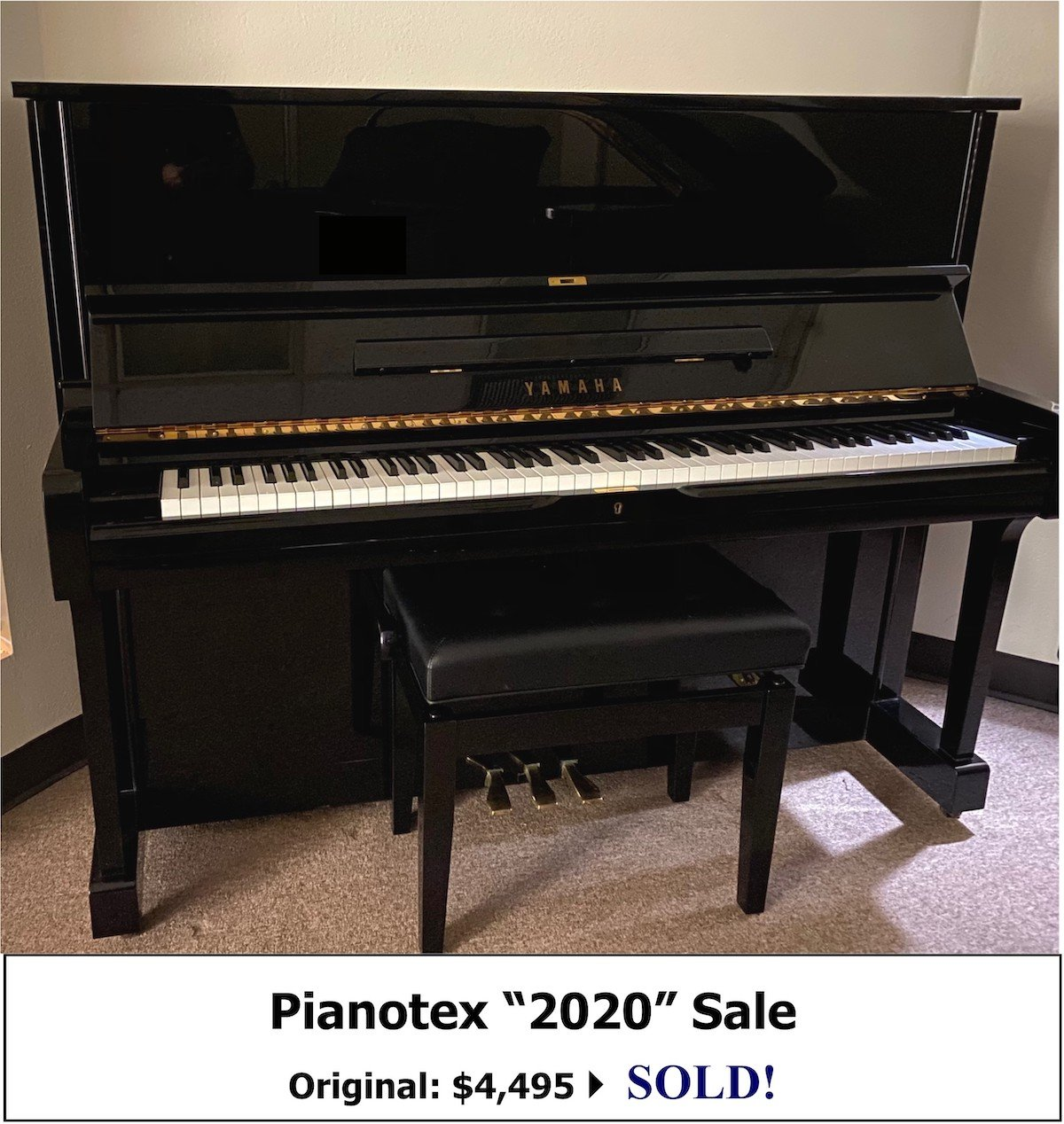 Yamaha U1A Studio Piano for Sale