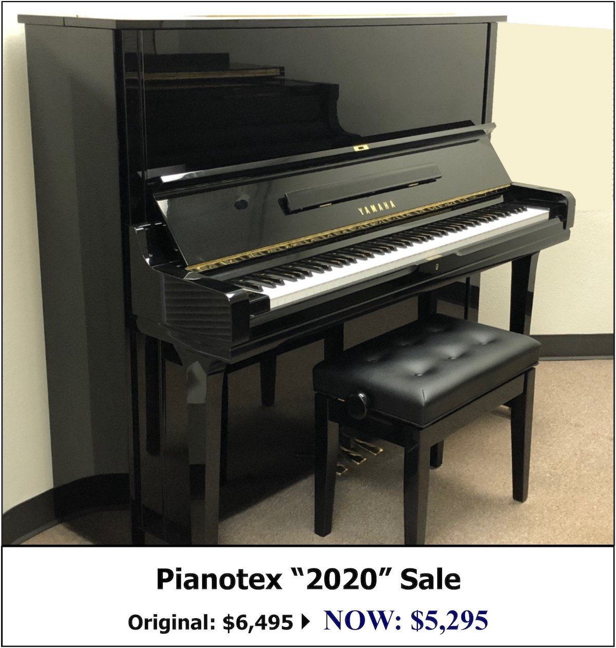Yamaha U3 Studio Piano for Sale